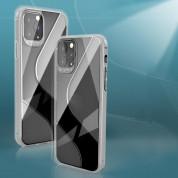 S-Case Flexible TPU Case - силиконов (TPU) калъф за iPhone SE (2020), iPhone 8, iPhone 7 (прозрачен) 1