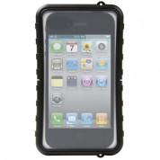 Krusell SEaLABox L - универсален водоустойчив калъф за iPhone и мобилни телефони (черен)