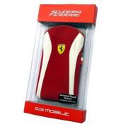 Ferrari Scuderia Series Pouch V2 -  кожен калъф за iPhone 4/4S (червен-бял) 2