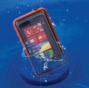 Krusell SEaLABox XL - универсален водоустойчив калъф за iPhone 5, iPhone 5S, iPhone SE, iPhone 5C, Nokia, Sony, HTC, Moto G и мобилни телефони (черен) 4