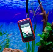 Krusell SEaLABox XL - универсален водоустойчив калъф за iPhone 5, iPhone 5S, iPhone SE, iPhone 5C, Nokia, Sony, HTC, Moto G и мобилни телефони (черен) 7