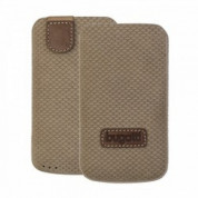 Bugatti Perfect Scale leather case for iPhone 4/4S, Samsung Galaxy S2 i9100, S2+ i9105 (brown)