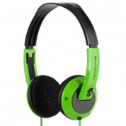 Skullcandy Uprock Green Headphones for iPhone and mobile devices