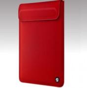 SwitchEasy Thins Black Ultra Slim Sleeve - неопренов калъф за iPad (всички поколения) (червен)