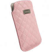 Krusell Avenyn Mobile Pouch XXL for Samsung Galaxy S2, HTC Sensation, LG and smartphones (pink)