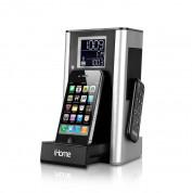 iHome iP39 Kitchen Alarm Clock - спийкър, будилник, радио и док за iPhone 2G, iPhone 3G/3GS, iPhone 4/4S и iPod (модели до 2012 година)