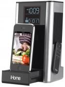iHome iP39 Kitchen Alarm Clock - спийкър, будилник, радио и док за iPhone и iPod 1