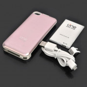 One Plus One Rechargeable External Battery Case - външна батерия и кейс за iPhone 4/4S 3