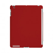 SwitchEasy CoverBuddy - кейс за iPad 4, iPad 3 (съвместим с Apple Smart cover) - червен