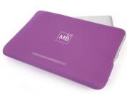 Tucano Second Skin Folder - неопренов калъф за MacBook Pro 15.4 инча (лилав) 2