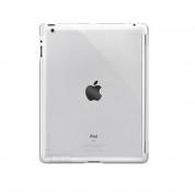 SwitchEasy CoverBuddy - кейс за iPad 4, iPad 3 (съвместим с Apple Smart cover) - прозрачен