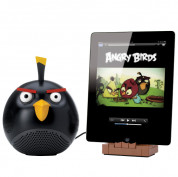 Gear4 Angry Birds speaker black bird - спийкър за iPod, iPad и iPhone (черен)