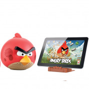 Gear4 Angry Birds speaker red bird - спийкър за iPod, iPad и iPhone (червен)