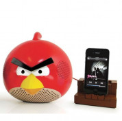Gear4 Angry Birds speaker red bird - спийкър за iPod, iPad и iPhone (червен) 3
