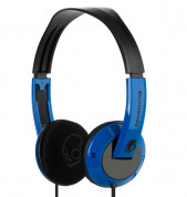 Skullcandy Uprock Blue/Black Headphones for iPhone and mobile devices