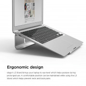 Еlago L3 STAND (Silver) for MacBook, Laptop Computer & tablet PC 6