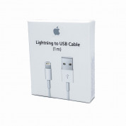 Apple Lightning to USB Cable 1m. - оригинален USB кабел за iPhone, iPad и iPod (1 метър) (retail) 10