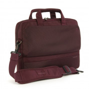Tucan Dritta Slim bag for MacBook Pro and mobile devices up to 15.4 in (burgundy)