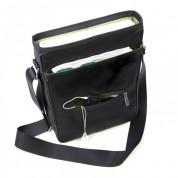 Knomo Stirling Messenger Bag 15 - унисекс чанта за преносими компютри до 15 инча (черен) 4